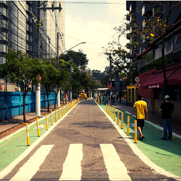 Impact Study and Evaluation of a Complete Street