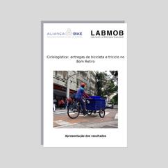 Ciclologística: entregas de bicicletas e triciclos no Bom Retiro (2018)