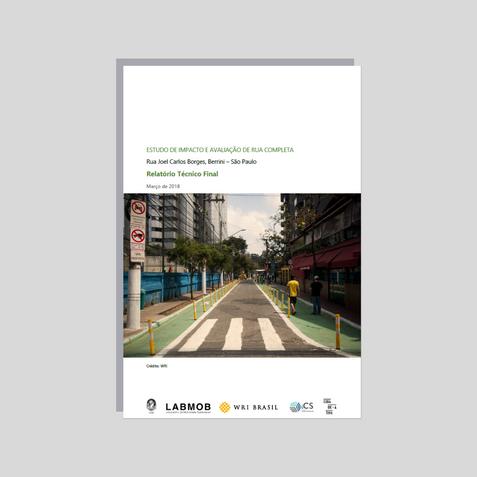 Avaliação de Impacto Rua Completa - Rua Joel Carlos Borges (2017)
