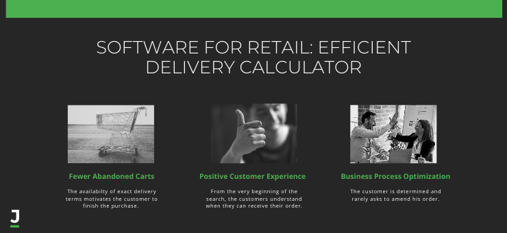 Software for Retail: Efficient Delivery Calculator