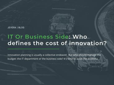 Who Runs The Funding Innovation Process?