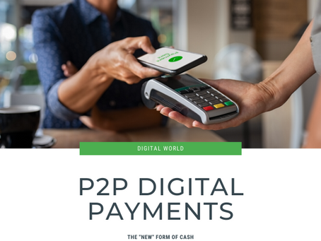 P2P Payments are the new cash