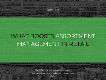Notes About The Assortment Management In Retail