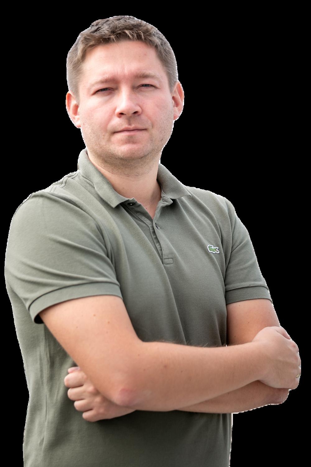 Ievgen Chupryna, Software Architect at JEVERA