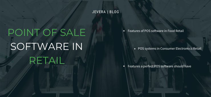 Point fo Sale Software in Retail