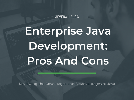 Development With Java: Pros and Cons