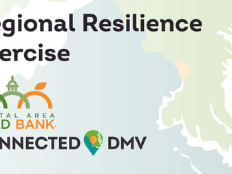 Connected DMV Conducts Regional Resilience Exercise, Hosted By Capital Area Food Bank