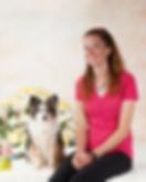 Debbie Tisdale, dog trainer, and Bandit