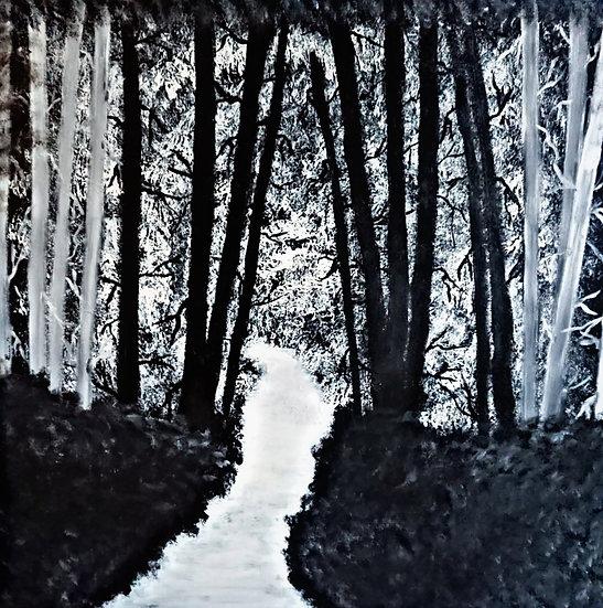 Forêt Noir 80 x 80 cm