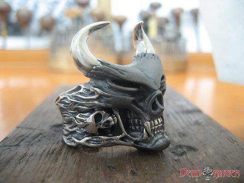 Speed Demon Skull Ring