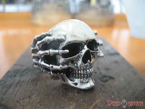 Deathgrip Skull Ring