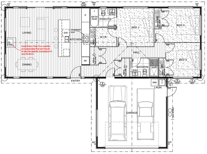 Pinnacle + Double Garage floor plan