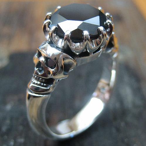 Ophelia Skull Ring - Range of gems