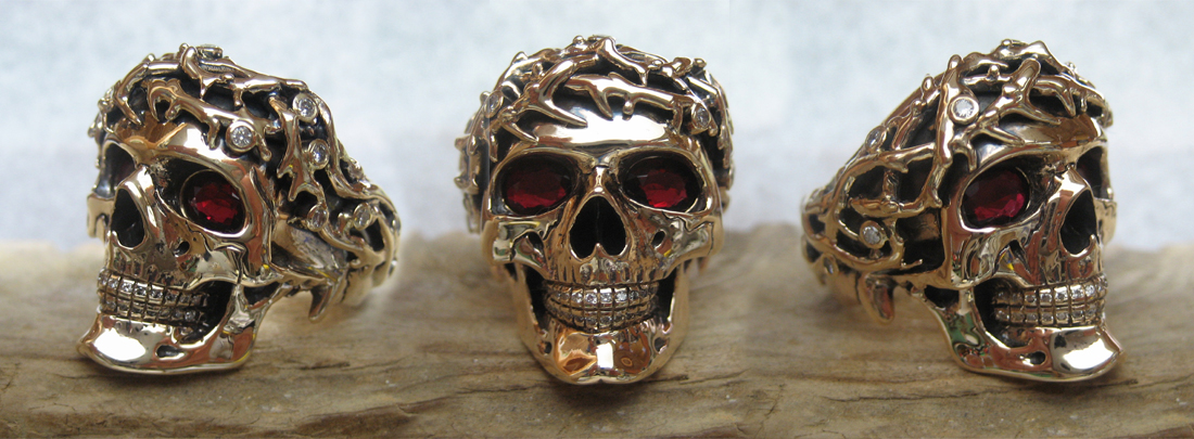 Customized Crown of Thorns ring