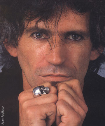 The Keith Richards Skull Ring