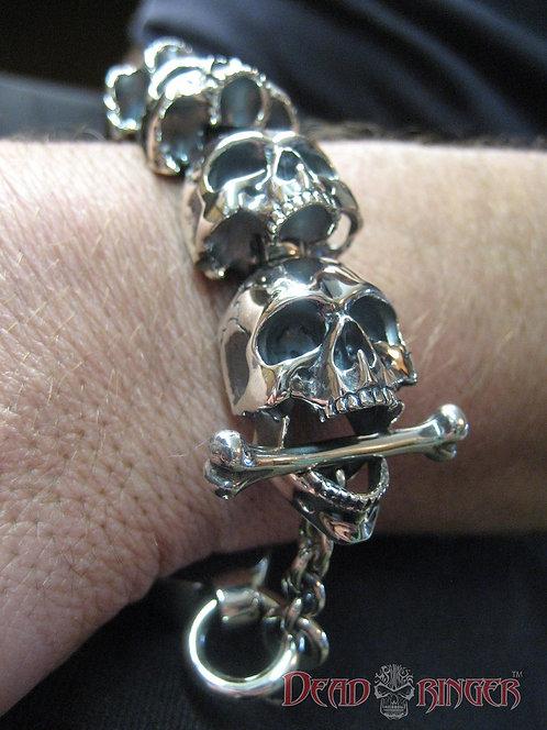 Deathrow Skull Bracelet