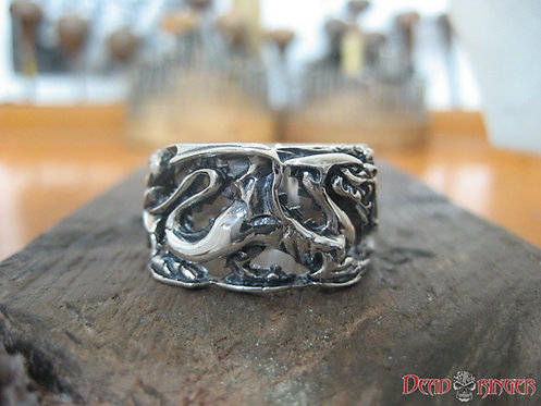 Fire Drake Dragon Ring