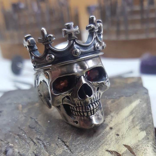 King Classic Skull Ring
