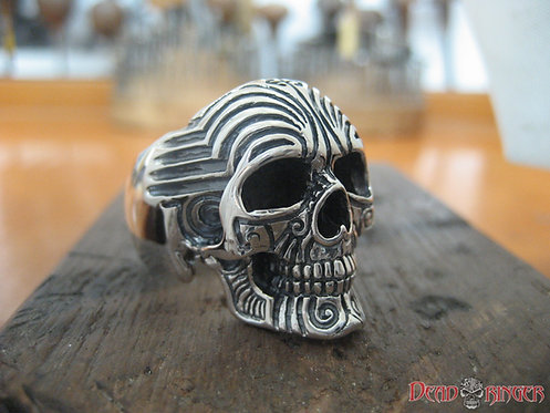 Pacifika Skull Ring