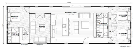Summit 124m2 floor plan