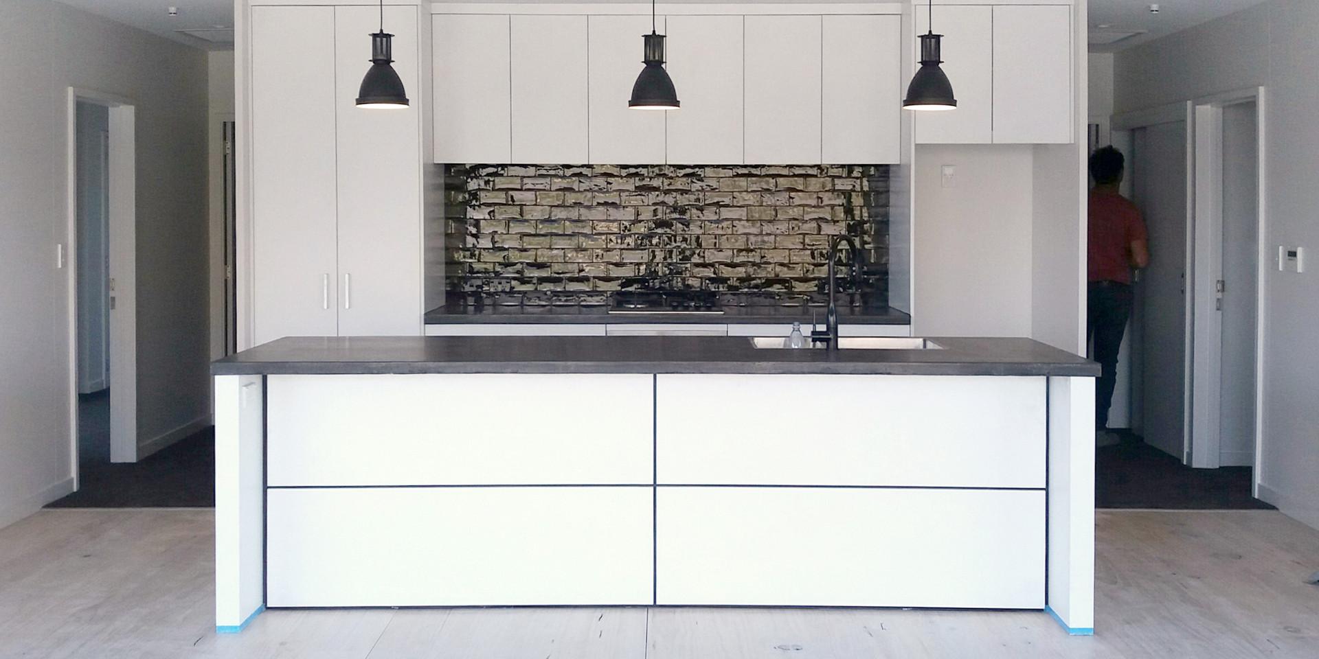Valley + 2 bedroom modules kitchen