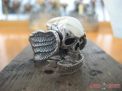Sinner Skull Ring
