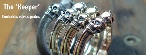 Keeper Skull Ring