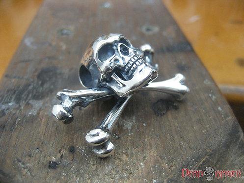Jolly Roger Skull Pendant