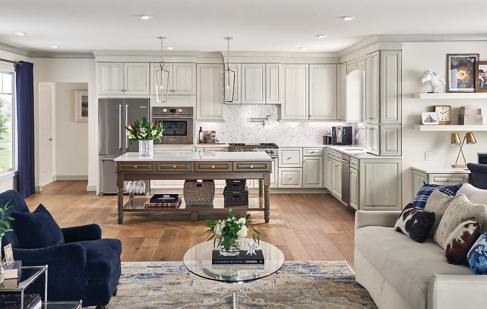 Kitchen Cabinets, Flooring, and Countertops Kraftmaid