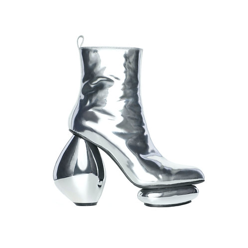 ROSARY Boots in Chrome