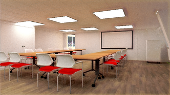 agencement de bureaux , space planning, rendu d'iage de synthèse