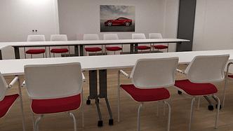 image de synthèse, espaces de réunion