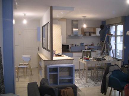 rénoativon d'appartement, agencement intérieur, travauxinérieurs
