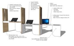 Création de mobilier spécifique