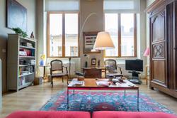 """Appartement type """"canut"""" à Lyon."""