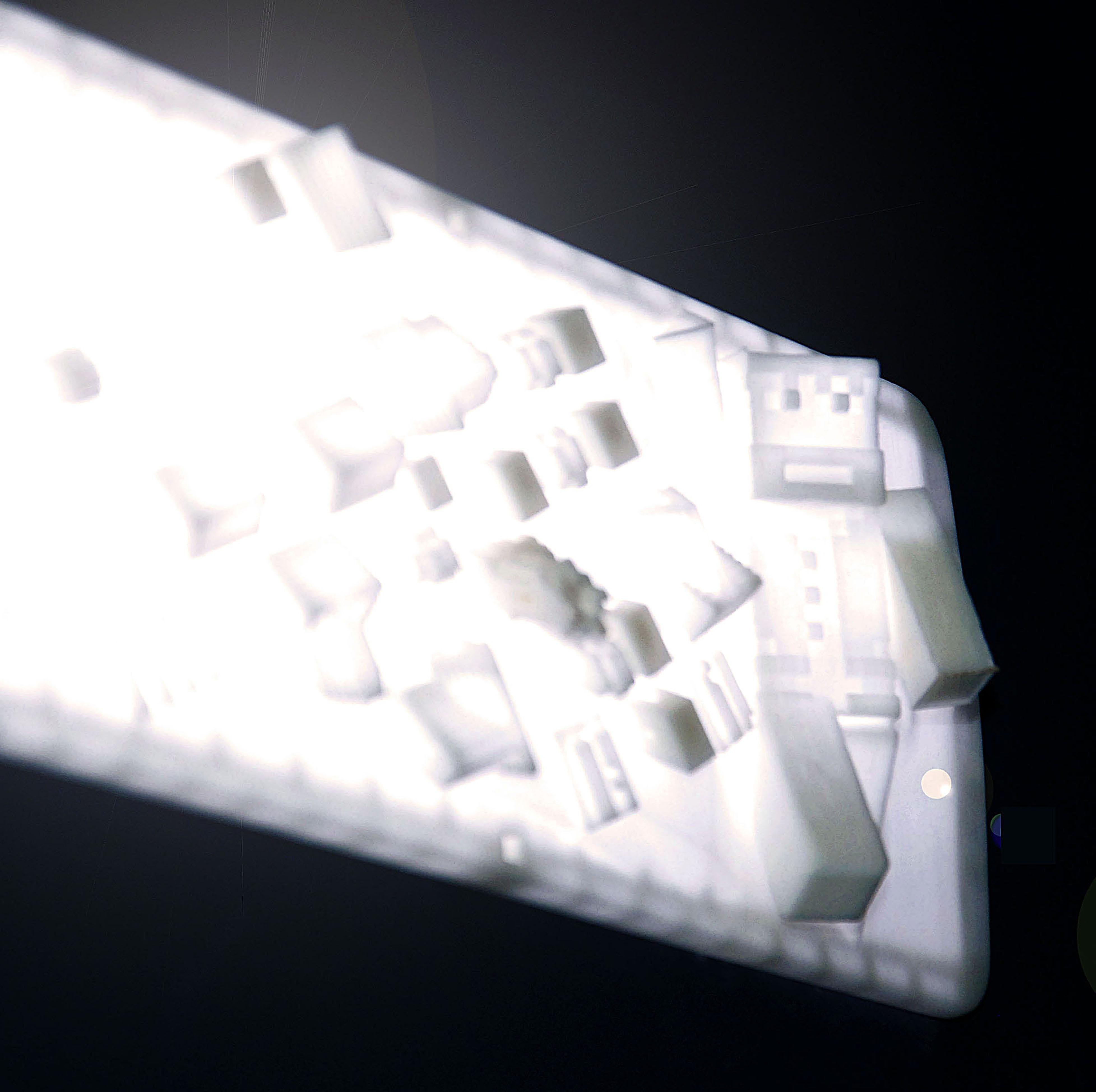Réflecteurs lumineux : impression 3D