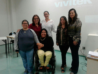 Coordenadora do programa Educação Inclusiva apresenta trabalho acadêmico em V Colóquio Nacional Mich
