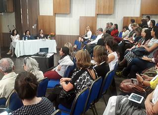 Seminário Transtorno do Espectro Autista reúne cerca de 80 pessoas, entre familiares, profissionais