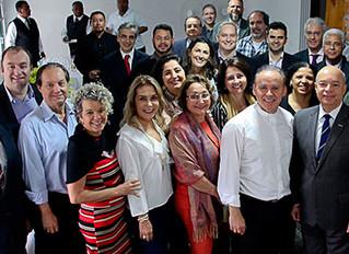 Instituto Ester Assumpção marca presença na Celebração Eucarística do Empresário - Café com Fé