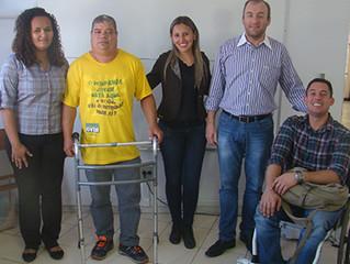 Coordenadoria da Pessoa com Deficiência de Sabará visita Instituto