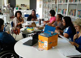 Instituto auxilia Escola M. Maria Cristina a elaborar aulas inclusivas