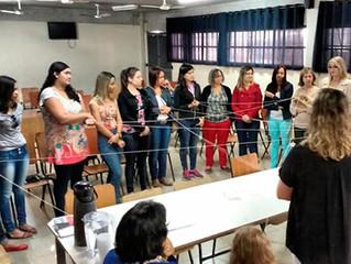 Minicurso sobre Educação Inclusiva na Escola João Batista M. de Brito