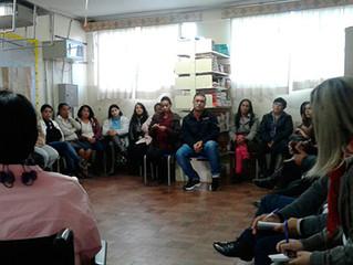 Palestra sobre Educação Inclusiva na Escola M. César Rodrigues