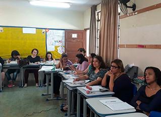 Minicurso sobre planejamento pedagógico é ministrado em escola de BH