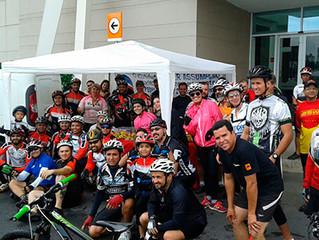 Pedal Solidário conta com 60 ciclistas