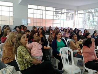 Minicurso sobre Educação Inclusiva reúne mais de 50 pessoas na Escola M. Luigi Toniolo, em BH