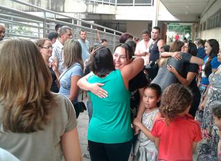 Inauguração da Escola de Pais na Escola M. João Batista Machado de Brito