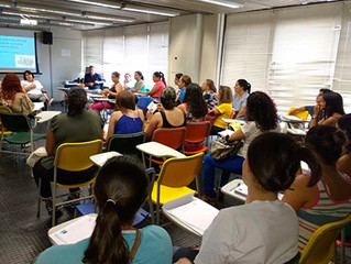 7º Encontro Mensal de Formação em Educação Inclusiva conta com 40 pessoas