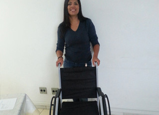 Instituto Ester Assumpção compartilha cadeira de rodas