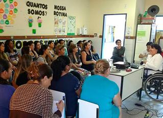 Educação Infantil é tema de minicurso no CIM Wilma da Costa A. Pinto